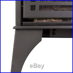 23.5 in. 20,000 BTU Compact Vent-Free Dual Fuel Gas Stove