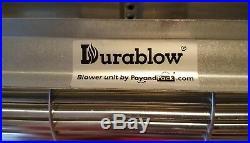 300 RPM Replacement Fireplace Blower Fan Durablow MFB 002-A FBK-100