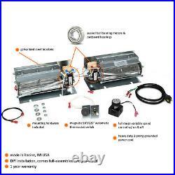 600-1 Fireplace Blower Fan Kit for Kozy Heat Fireplaces