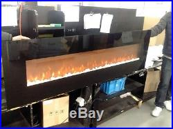 72 INCH Electric Fireplace Modern Linear Large 1500 Watt heating 5000 BTUs