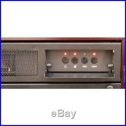750With1500W Electric Fireplace Decor Flame Fire Adjustment Thermostat 33 Mantle