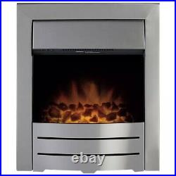Adam Colorado 2kW Electric Inset Fire Brushed Steel-no-0253