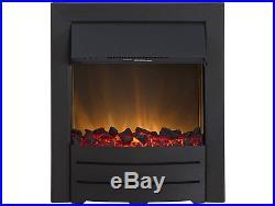 Adam Colorado Electric Fire in Black