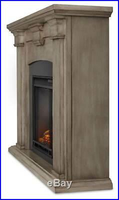 Adelaide Electric Fireplace in Dry Brush White ID 3710281