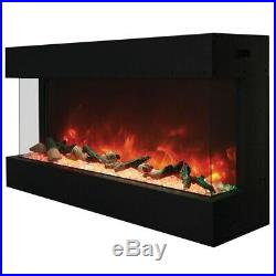 Amantii 3 Sided 40 Wide Electric Fireplace