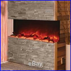 Amantii 3 Sided 60 Wide Electric Fireplace