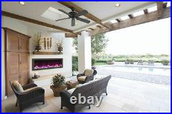 Amantii Bi-50-Slim Panorama Series Electric Fireplace Built In Fire & Ice Deals