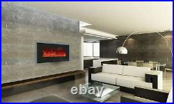Amantii Enhanced Series Wall Mount/Built-In Electric Fireplace, 34