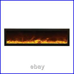 Amantii Indoor Panorama Series Deep Electric Fireplace, 60 Inch