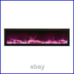 Amantii Indoor Panorama Series Slim Electric Fireplace, 60