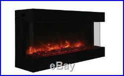 Amantii Panorama Series 50 3 Sided Electric Fireplace 50-TRU-VIEW-XL