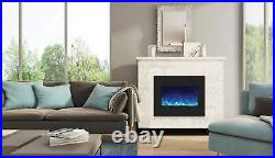 Amantii Zero Clearance Series Built-In Electric Fireplace, 26