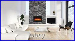 Amantii Zero Clearance Series Built-In Electric Fireplace, 33