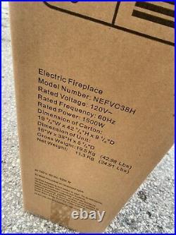 BRANDNEWSEALED Napoleon NEFVC38H Allura Recessed Vertical 38 Electric Fireplace