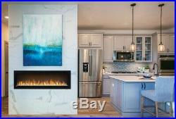 BRANDNEW Napoleon NEFL60CHS Alluravision 60 Slimline Electric Fireplaces