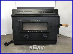 BRUNCO Freestanding Wood and COAL Burning Stove/ Fireplace Insert Wood Burner