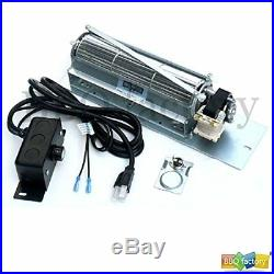 Bbq factory FK24 Replacement Fireplace Blower Fan KIT for Monessen, Vermont