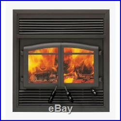 Black Flame Monaco FL-064 4.3 Cu ft 95,000btu 46 Wide Large Wood Fireplace