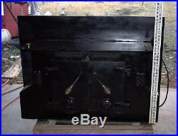 Black Jacket Fireplace Insert Wood Stove