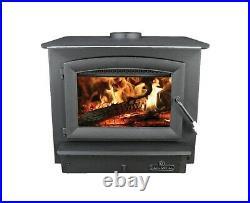 Breckwell SW740 Wood Stove Burning fireplace Insert 113K BTU Heat Refurbished