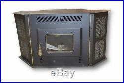 CORN STOVE Up to 50,000 BTU's Direct Vent Fireplace Insert or Freestanding