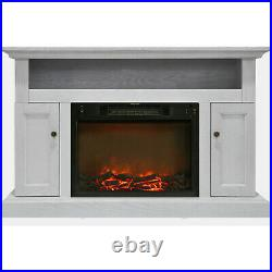 Cambridge Sorrento Electric Fireplace with 1500W Log Insert and 47 In. Entertai