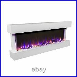 Chesmont 50 Wall Mount Electric Fireplace