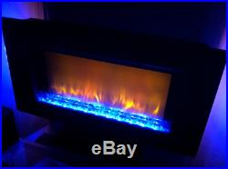 ClassicFlame Elysium 36 Wall Or Stand Mounted Electric LED Fireplace Heater
