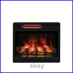 Classic Flame 23 in. Ventless Infrared Electric Fireplace Insert with Safer Plug