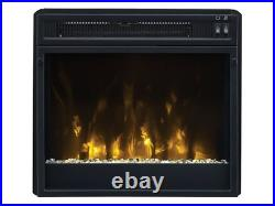 Classic Flame Twin Star Electric 18 inch Fireplace Insert 18EF026FGT