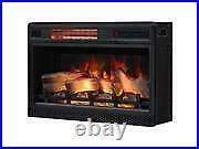 Classicflame Spectrafire 26-inch 3d Infrared Quartz Electric Fireplace Insert