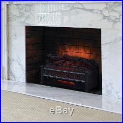 Comfort Smart 23 Infrared Electric Fireplace Insert/Log Set