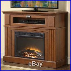 Corner Electric Fireplace Tv Stand Media Center 1500-watt Heater Furniture Decor