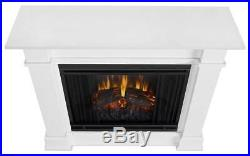 Devin Electric Fireplace in White ID 3710250