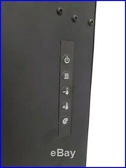 Dimplex 36-In Nicole Wall Mount Electric Fireplace Remote Control Plug-In Black