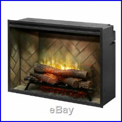 Dimplex 36 Revillusion Electric Fireplace Built In Firebox RBF36 REALISTIC