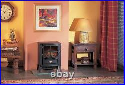 Dimplex Brayford Electric Stove 1kWith2kW Flame Effect Free Standing