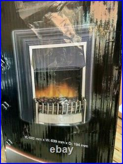 Dimplex CHT20 Freestanding Electric Fire CHERITON 2KW REMOTE HEATER OPTIFLAME