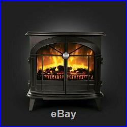 Dimplex Leckford flame effect Optiflame Electric Stove Remote Control 2kw new