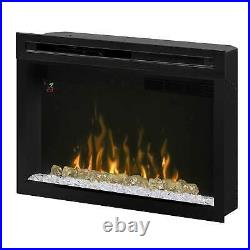 Dimplex Multi-Fire XD Electric Firebox with Glass Ember Bed, 33