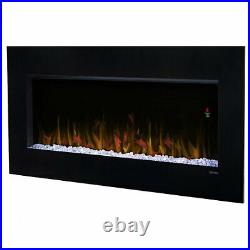 Dimplex Nicole Wall-Mount Electric Fireplace, 43es