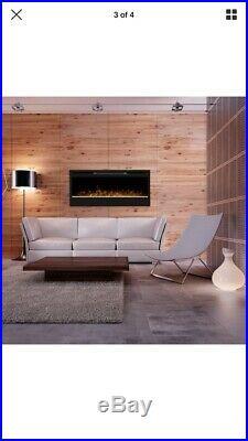 Dimplex Prism 50 Inch LED 1230W 4198 BTU Wall Mount Linear Electric Fireplace