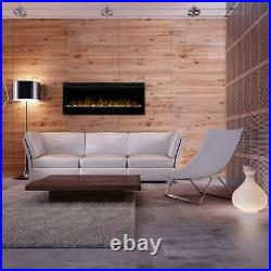 Dimplex Prism Series Electric Fireplace, 50 Modern, Linear Multi Color Led
