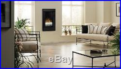 Dimplex V1525RT-BLK 24-Inch Rectangular Wall Mount Electric Fireplace, Black