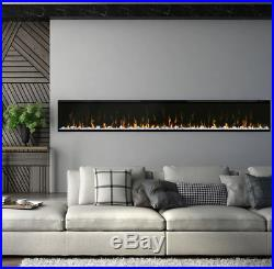 Dimplex XLF100 IgniteXl 100 inch Built-in linear Electric Fireplace Black