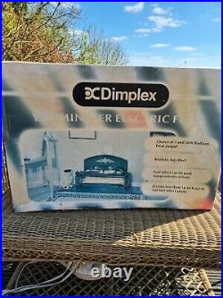Dimplex Yeo20 Yeominster Radiant Bar Fire Electric Freestanding 1.2kw Flame New