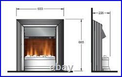 Dimplex Zamora Freestanding Electric Fire