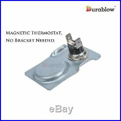 Durablow MFB004A UZY5, PUZY5, 26180 Replacement Fireplace Dual Blower Fan Kit fo