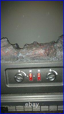 Duraflame DFI-500-4 Black Infrared Freestanding Stove