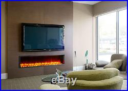 Dynasty 63-In Built-In Electric Fireplace